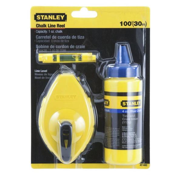 Шнур разметочный, 30м (комплект), STANLEY - Инсел