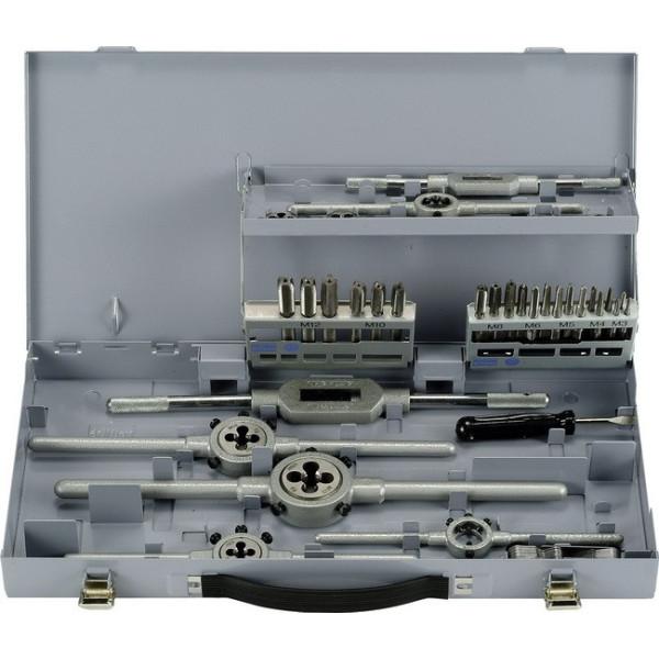 Набор для нарезания метричной резьбы ALPEN 37 частей - Инсел