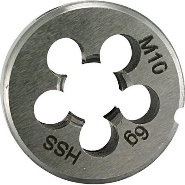 Плашка для нарезания резьбы 25x9 M 3 PLT - Инсел