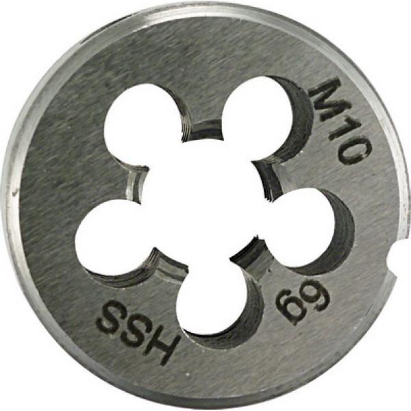 Плашка для нарезания резьбы 25x9 M 4 PLT - Инсел