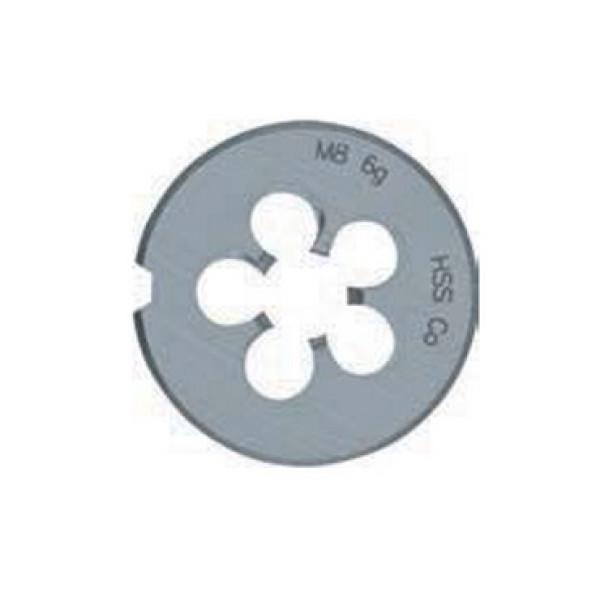 Плашка для нарізування різьблення Cobalt M 8 PLT  — Инсел