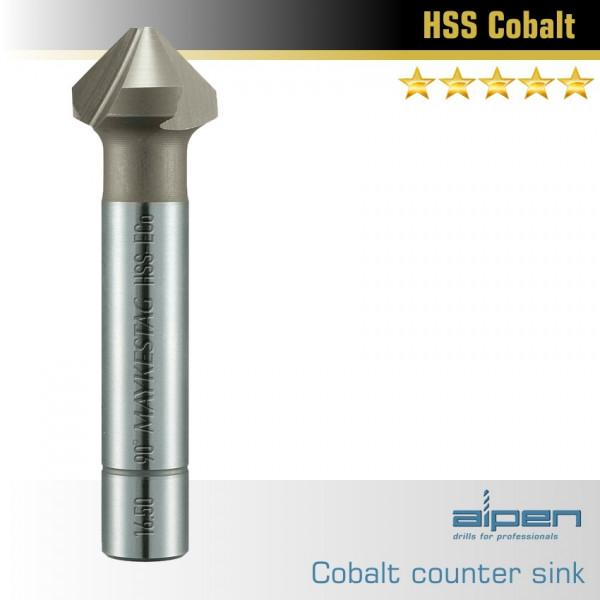 Зенковка коническая 90ø Cobalt 10.4 TU  — Инсел
