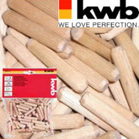 Шканты деревянные 8 мм/ 150 шт, KWB - Инсел