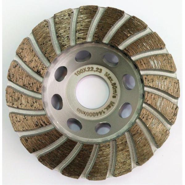 Диск алмазный шлифовальный, турбо 100х22,2 мм, TAMOLINE - Инсел