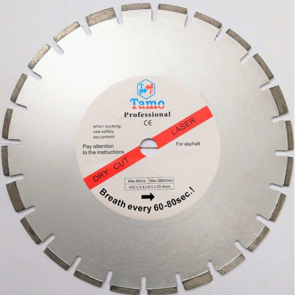 Диск алмазный для асфальта 400х25,4мм, TAMOLINE - Инсел