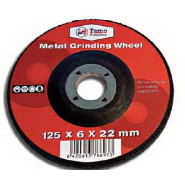 Диск шлифовальный по металлу 230x6,0x22,2 мм, TAMOLINE - Инсел