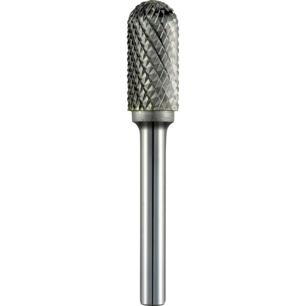Фреза по металлу цилиндрическая с закругл. головкой ,Ø 6x50 cut 6, хвостов.Ø 6мм, тип WRC  — Инсел