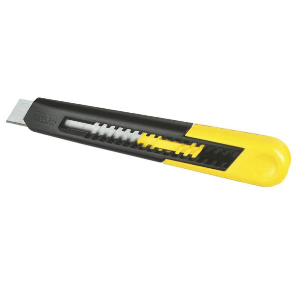 Нож с выдвижным лезвием 18мм, STANLEY