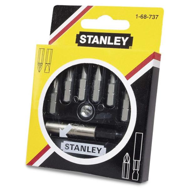 Набор бит 25мм, 7 предметов, STANLEY — Инсел