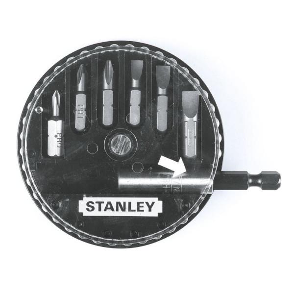 Набор бит 25мм, 7 предметов, STANLEY - Инсел