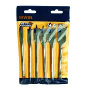 Набор перьевых свёрл IRWIN по дереву 6 шт - Инсел