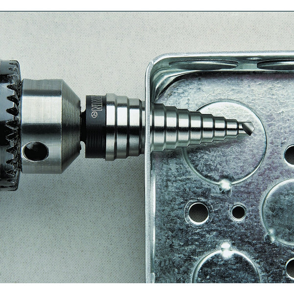 Многоступенчатое сверло UNIBIT 4M 4-22 мм 10 HOLES  — Инсел