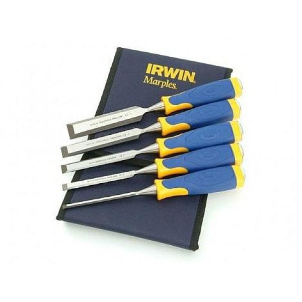 Набор стамесок MS500 в футляре 5 шт.( 6,10,15,20,25 мм) IRWIN - Инсел