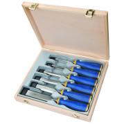 Набор стамесок в деревянной коробке 6 шт.( 6,10,12,16,20,26 мм) IRWIN - Инсел