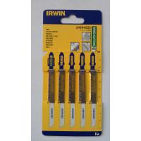 Пилка для лобзика по дереву IRWIN BJSB, 5шт T101D - Инсел