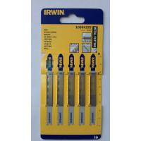 Пилка для лобзика по металлу IRWIN BJSB, 5шт T118B - Инсел
