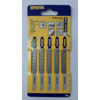 Пилка для лобзика по металлу IRWIN BJSB, 5шт T127D - Инсел
