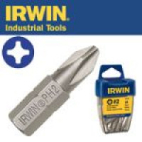 "Бита Phillips INSERT BIT 1/4""/25мм PH3 10шт, IRWIN - Инсел"