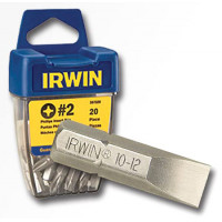 """Бита 1/4"""" / 25 мм, плоский 0,6 x 4,5 мм ( 10 шт.), IRWIN - Инсел"""
