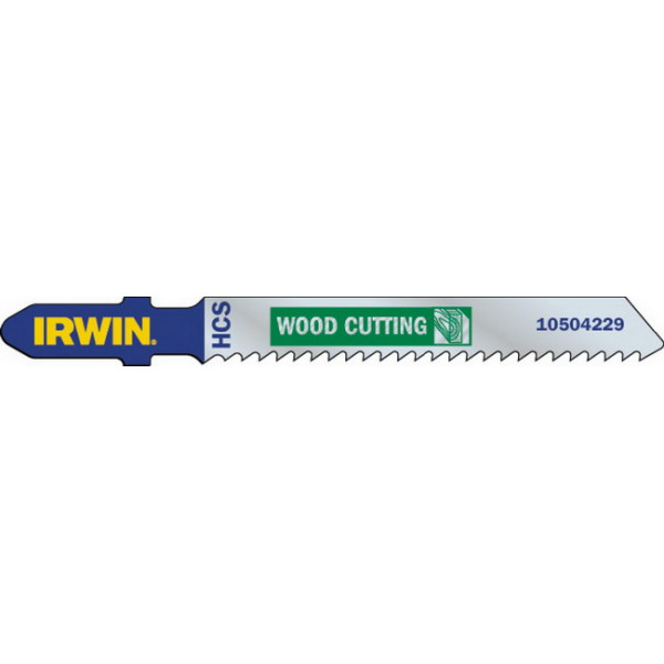 Пилка для лобзика по дереву IRWIN BJSB, T144D 100 pc Pack - Инсел