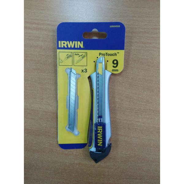 Нож с отлам сегм Pro Touch 9мм AUTO LOAD SNAP-OFF KNIFE (уценка -30%) - Инсел