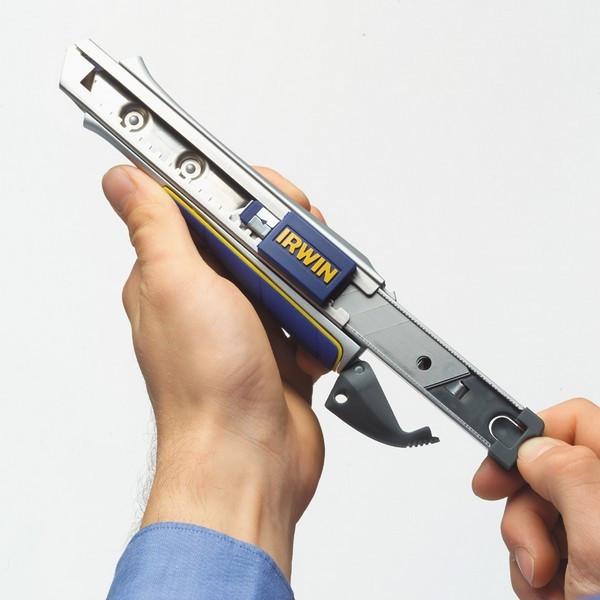 Нож с отлам сегм Pro Touch 9мм AUTO LOAD SNAP-OFF KNIFE  — Инсел