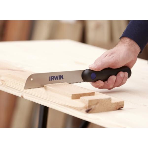 Ножовка японская (мини-лучковая/для изготовления деталей),  22TPI, IRWIN  — Инсел