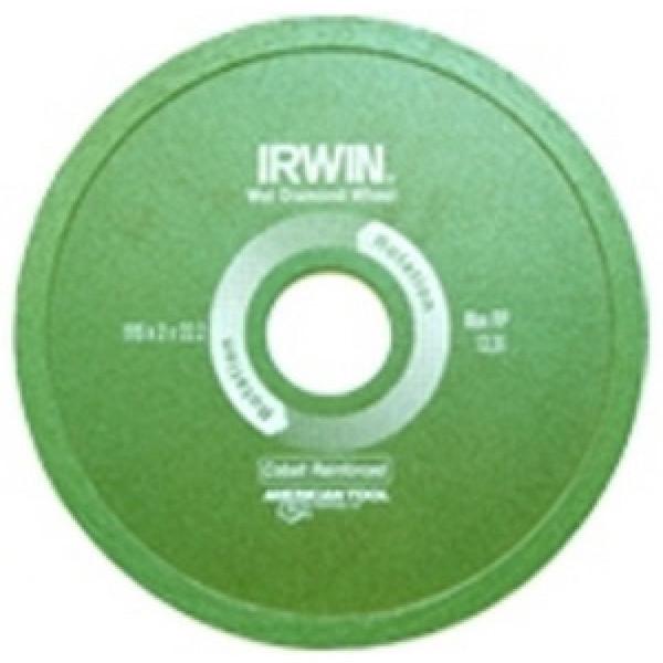 Диск алмазный сплошной 125x22,2 (с подачей воды), IRWIN  — Инсел