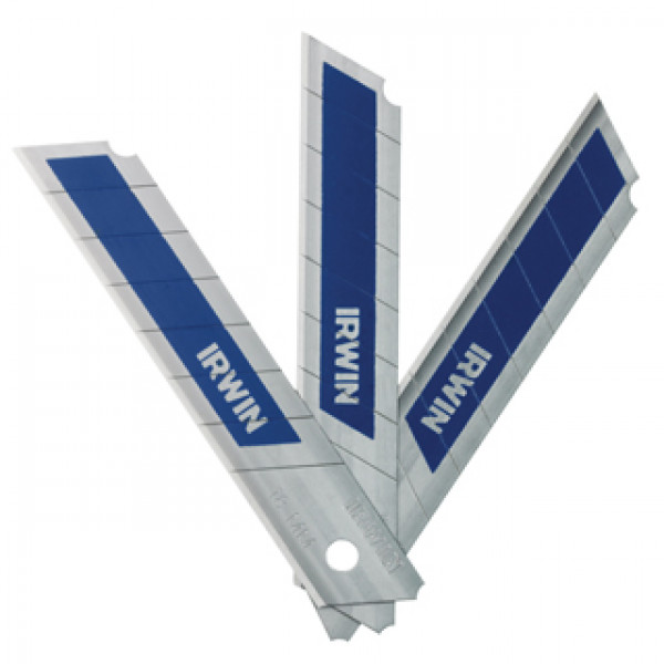 Лезвия биметаллические с отламывающимся сегментом 18мм, 5 шт., IRWIN - Инсел