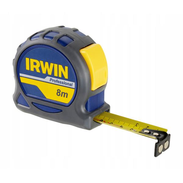 Рулетка профессиональная 8м, IRWIN - Инсел