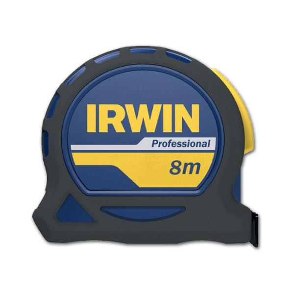 Рулетка профессиональная 8м (без упаковки), IRWIN - Инсел