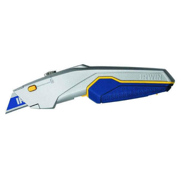Нож с выдвижным трапециевидным лезвием, ProTouch, IRWIN - Инсел