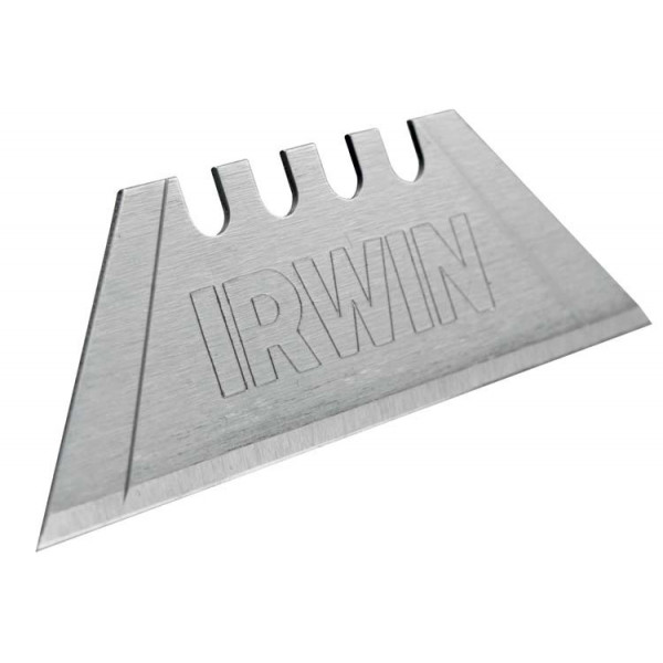 Лезвие трапециевидное из углеродистой стали, 4Point, 10шт./уп., IRWIN - Инсел