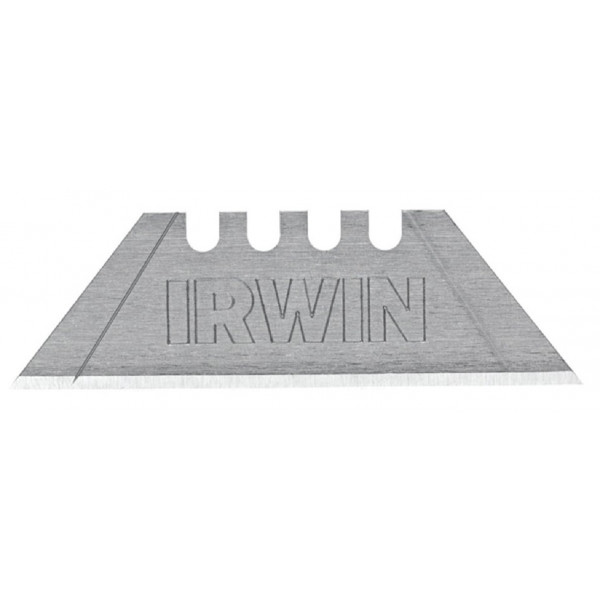 Лезвие трапециевидное из углеродистой стали, 4Point, 100шт./пенал, IRWIN - Инсел