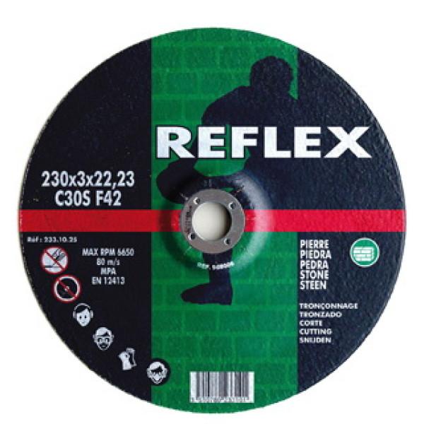 Диск отрезной по камню 125х2.5х22, REFLEX/ORANGE - Инсел