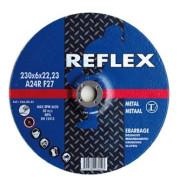 Диск обдирочный по металлу 180х6.0х22, REFLEX - Инсел