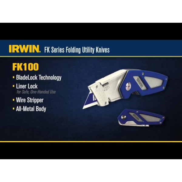 Нож складной FK100, IRWIN  — Инсел
