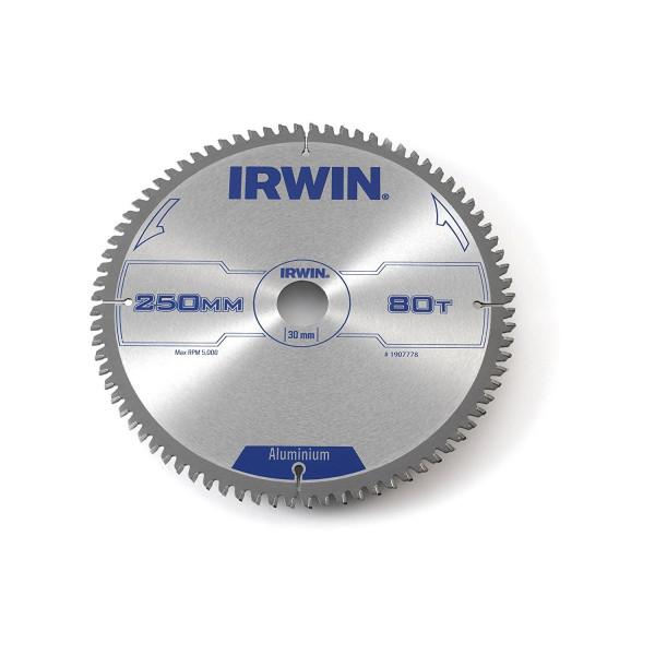 Диск пильный по алюминию 250х80х30, IRWIN - Инсел