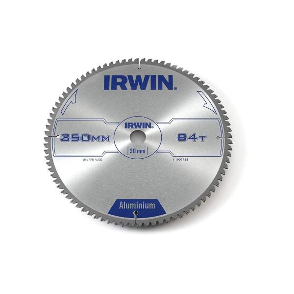 Диск пильный по алюминию 350x84Tx30, IRWIN - Инсел