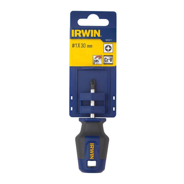 Отвёртка Pro Comfort PZ №1 x 30мм, IRWIN  — Инсел