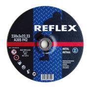 Диск отрезной по металлу 230х3.0х22, REFLEX - Инсел