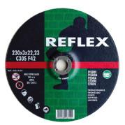 Диск отрезной по камню 230х3.0х22, REFLEX - Инсел
