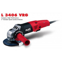 Угловая шлифовальная машина L 3406 VRG, 125мм, 1400 Вт, FLEX - Инсел