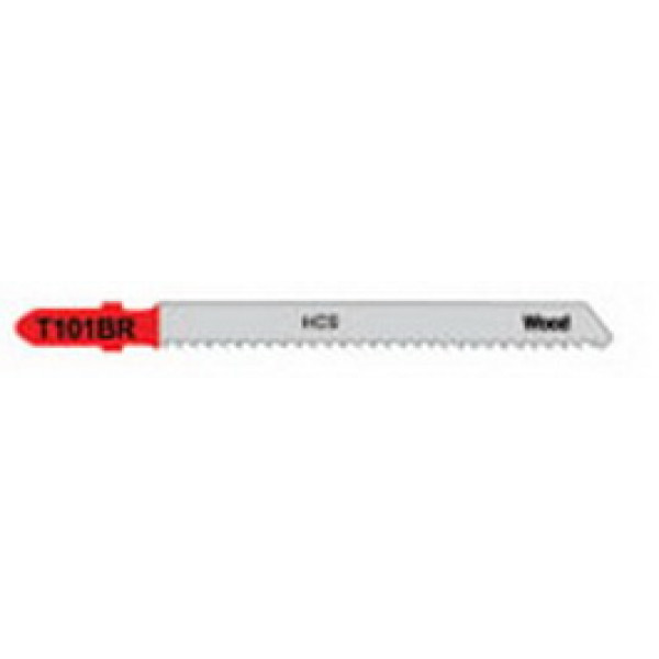 Пилка для лобзика по дереву T101BR, 100 мм, 5шт., TAMOLINE  — Инсел