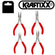 Набор губцевого инструмента  для электромонтажа, 4 предмета, Kraftixx - Инсел