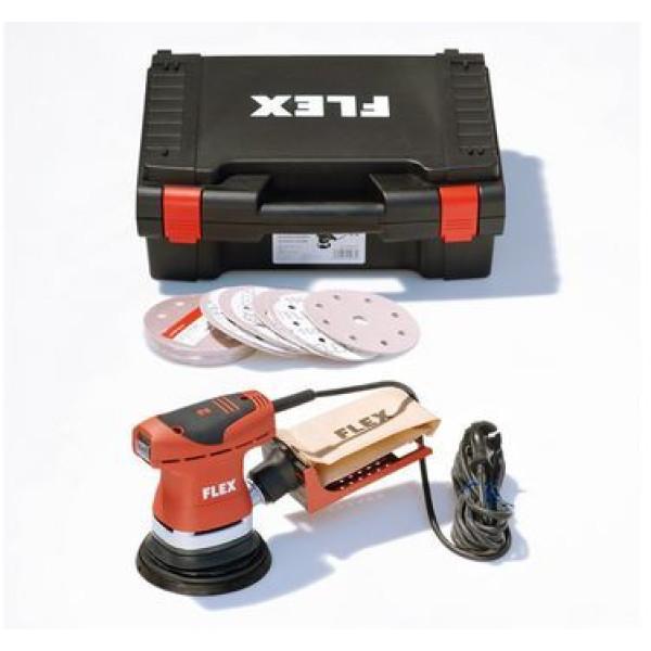 Эксцентриковая шлифовальная машина с регулировкой частоты вращения ORE 125-2, Set, FLEX  — Инсел