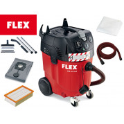 Пылесос промышленный с авт. очисткой фильтра VCE 45 Н AC, набор для чистки, 1380 Вт, FLEX - Инсел