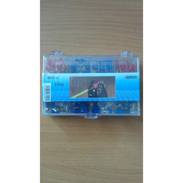 Клемм набор для кабеля 1,5-2,5мм, 150 шт, Kraftixx  — Инсел