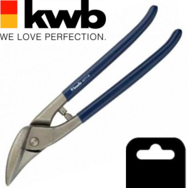 Ножницы по металлу правосторонние 260мм, KWB - Инсел