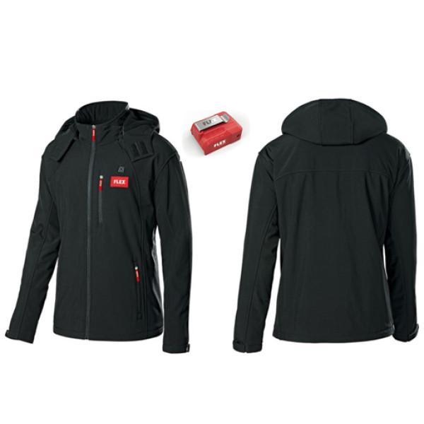 Куртка с подогревом с питанием от аккумулятора, размер L, FLEX  — Инсел